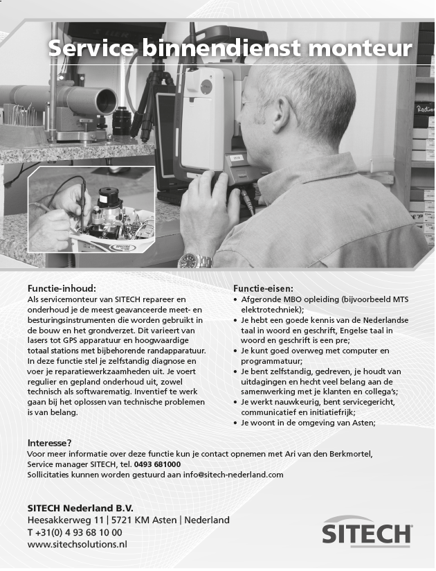 manager operations vacature